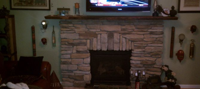 Fireplace Stone to Match House